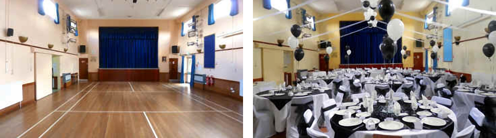 main hall hire